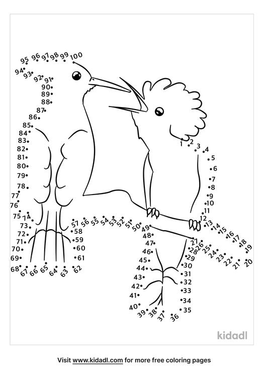 hard-hoopoe-birds-dot-to-dot
