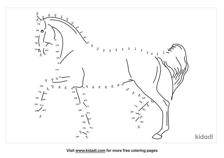 hard-horse-dot-to-dot