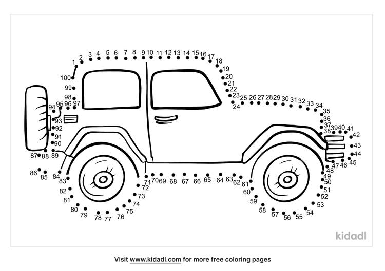 hard-jeep-dot-to-dot