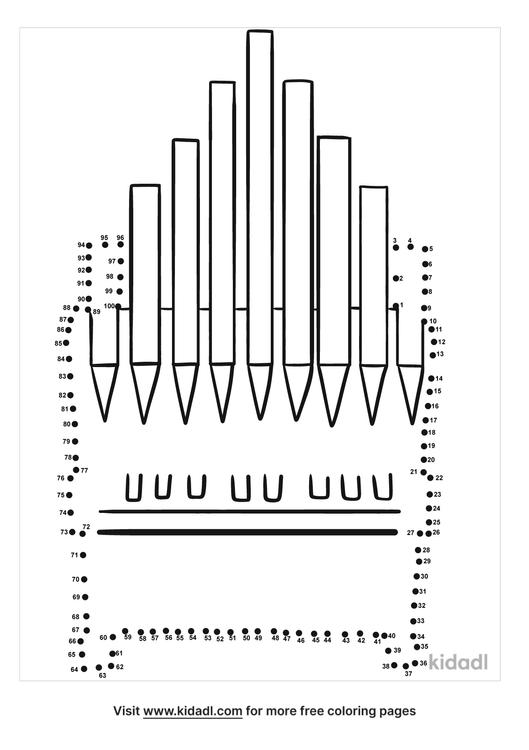 hard-organ-instrument-dot-to-dot