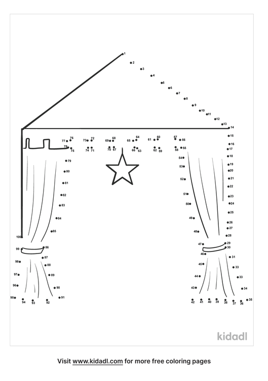hard-party-tent-dot-to-dot