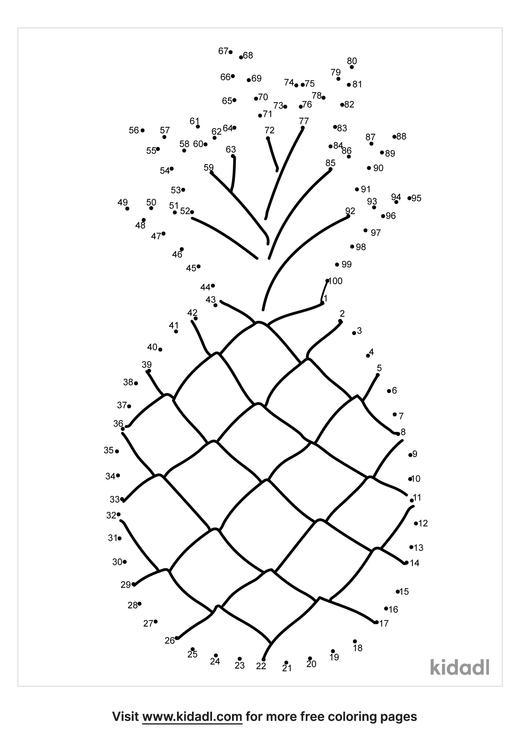 hard-pineapple-dot-to-dot