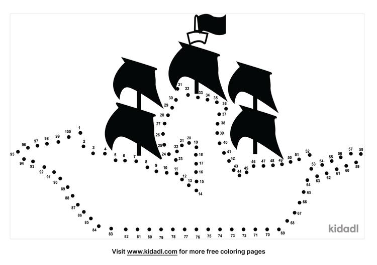 hard-pirateship-dot-to-dot