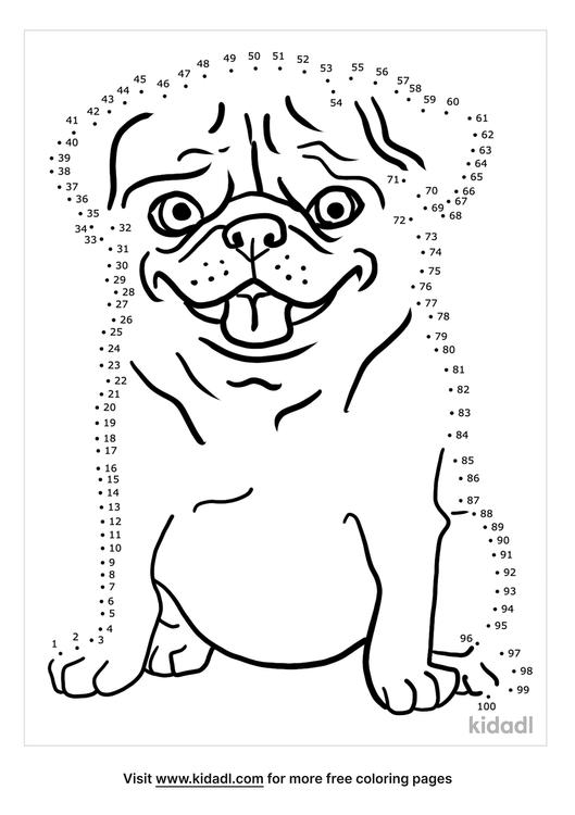 hard-pug-dot-to-dot