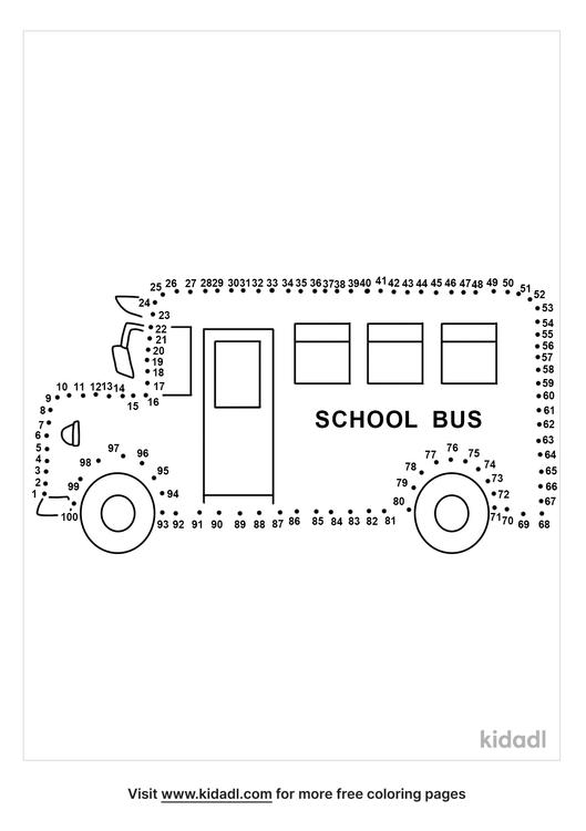 hard-school-bus-dot-to-dot