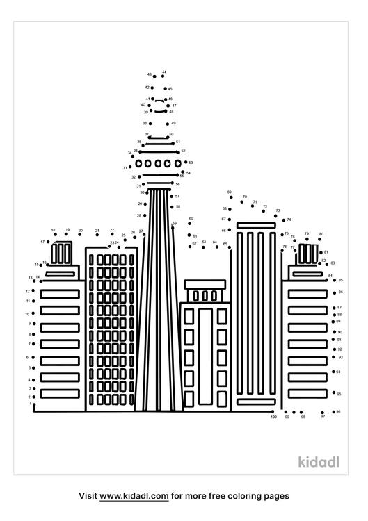 hard-skyscraper-dot-to-dot