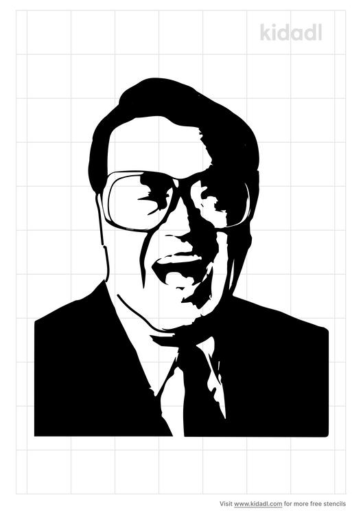 harry-caray-stencil
