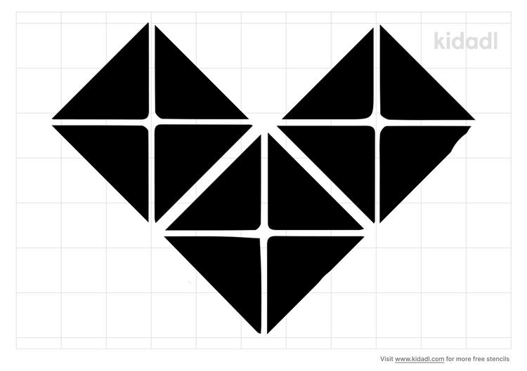 heart-square-stencil