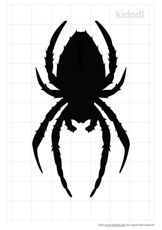 hieroglyphic-spider-stencil