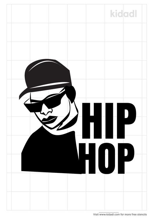 hip-hop-legends-stencil