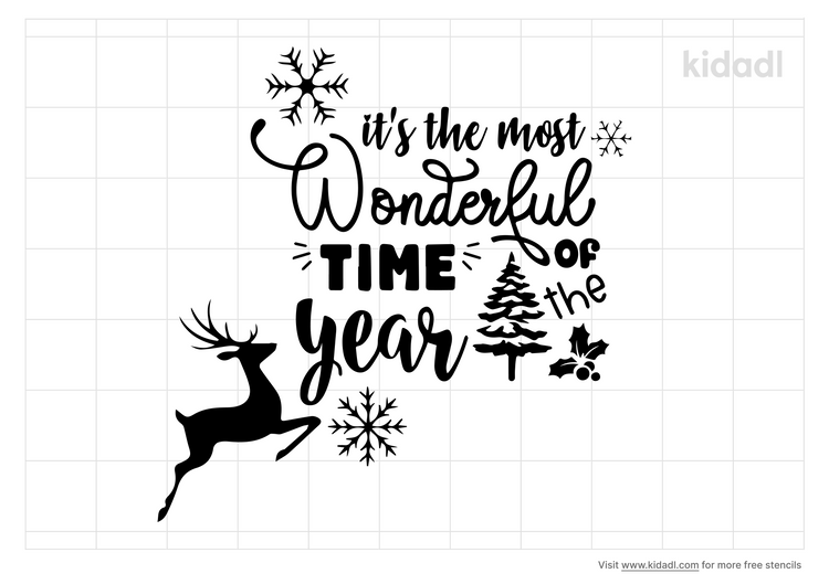 holiday-it-s-the-most-wonderful-time-of-the-year-stencil