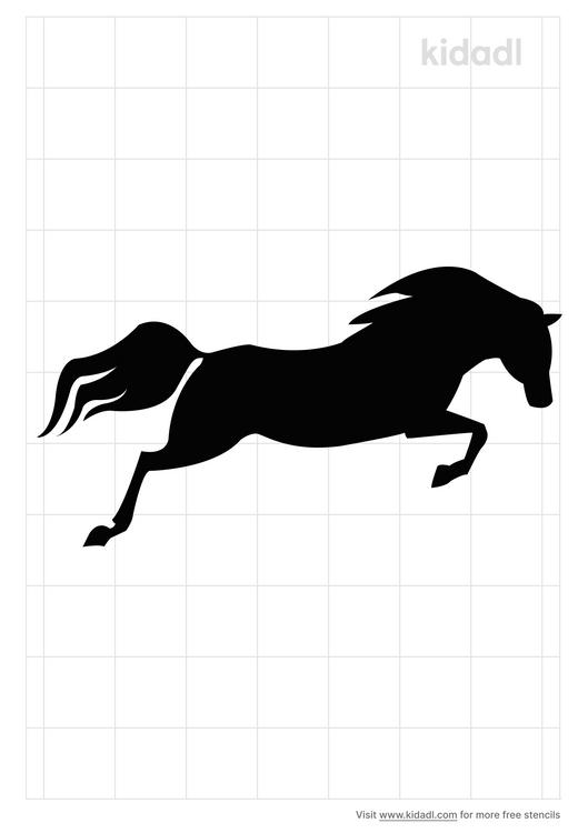 horse-jumping-stencil