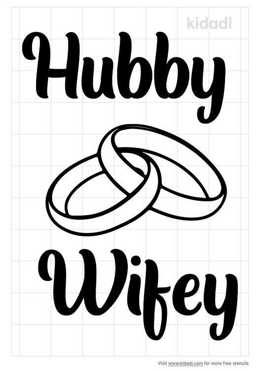 hubby-wifey-stencil