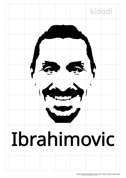 ibrahimovic-stencil