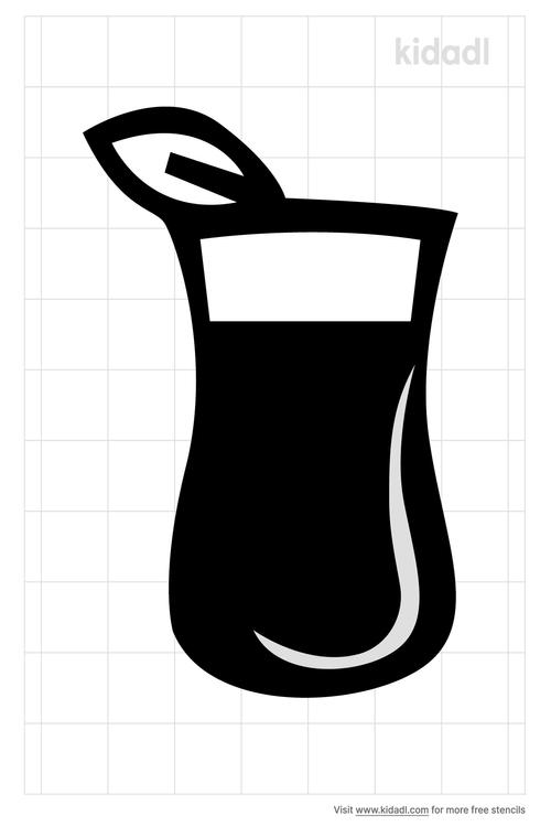 iced-tea-stencil