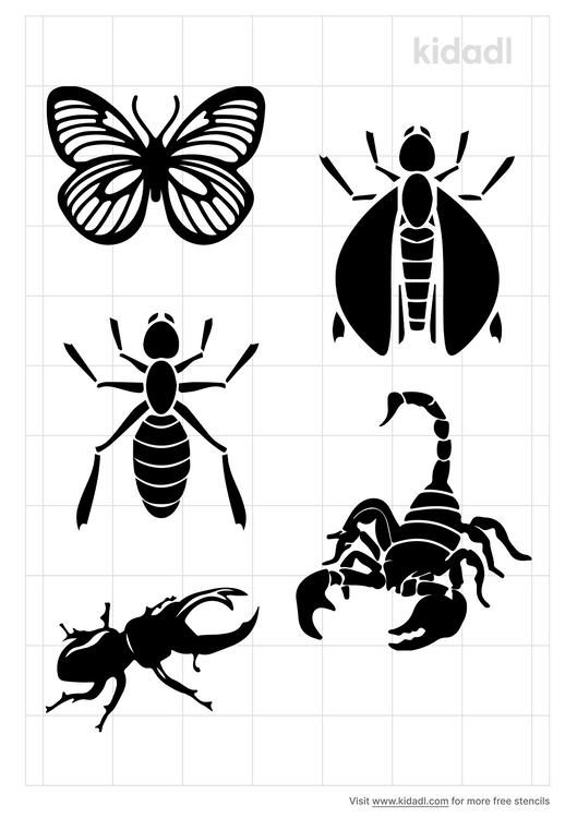 insect-stencil