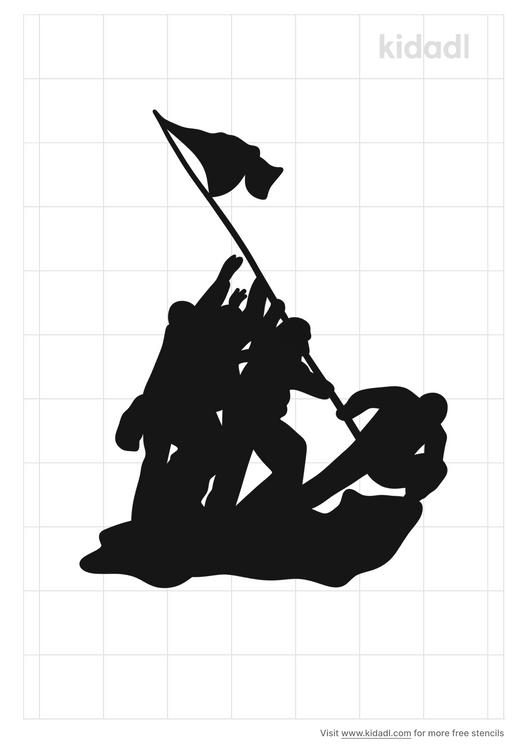 iwo-jima-stencil
