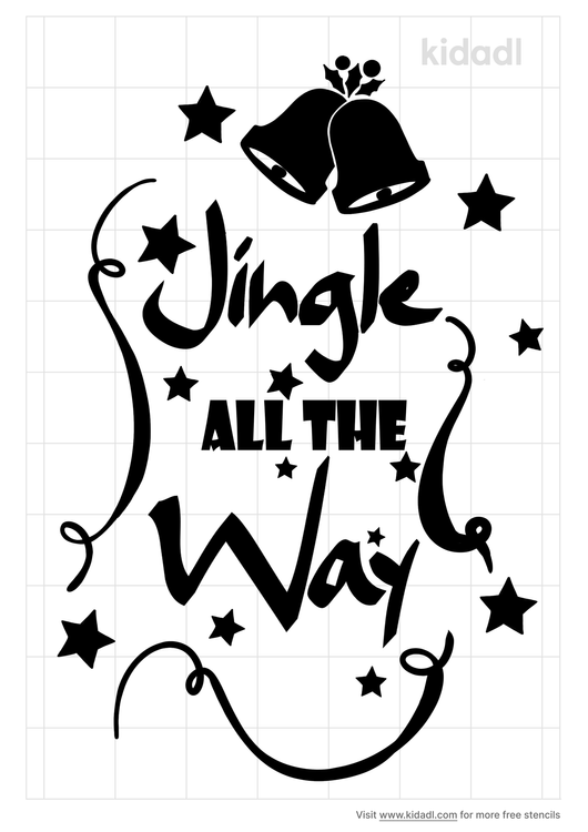 jingle-all-the-way-stencil