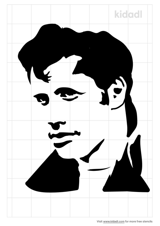 john-ravolta-silhouette-stencil