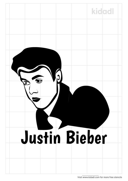 justin-bieber-stencil