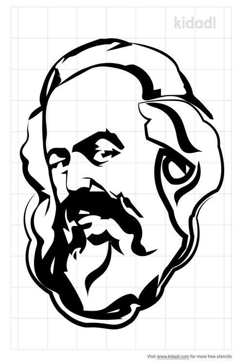 karl-marx-face-stencil