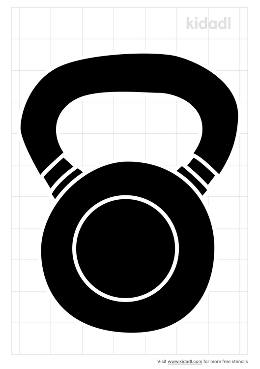 kettle-bell-stencil