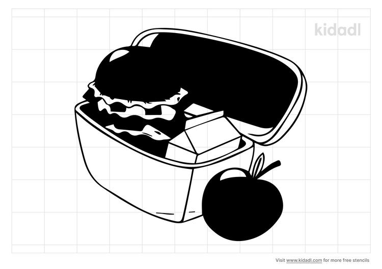 kids-lunch-bag-stencil