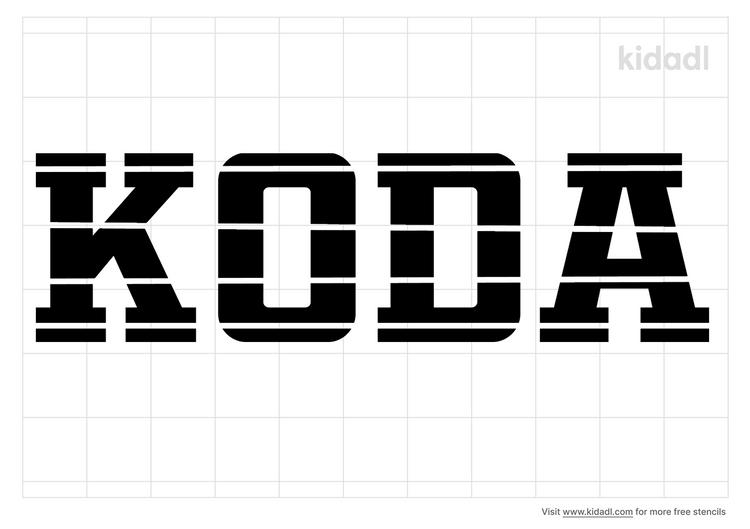 koda-name-stencil