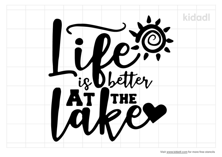 life-is-better-at-the-lake-stencil