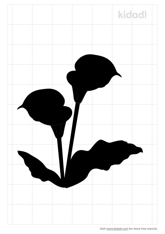 lily-of-the-valley-stencil