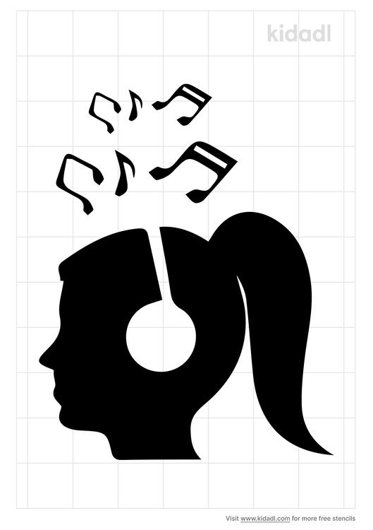 listening-music-stencil