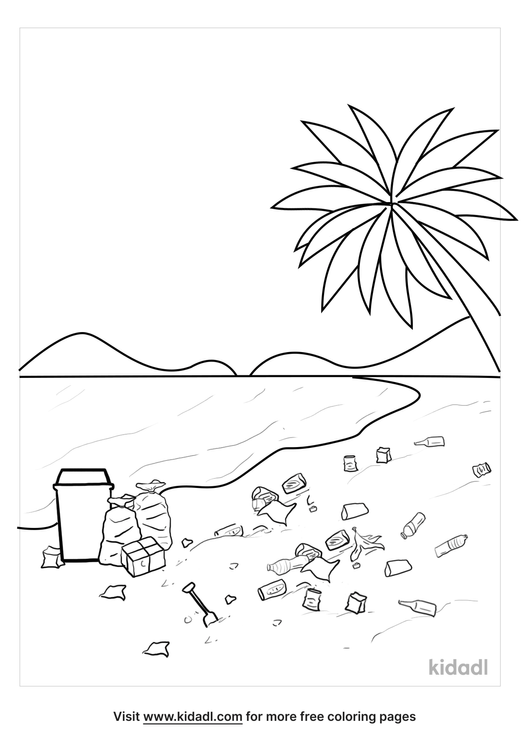 litter-on-the-sand-coloring-page.png