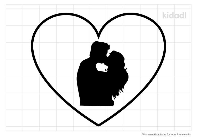 lovehugskisses-stencil