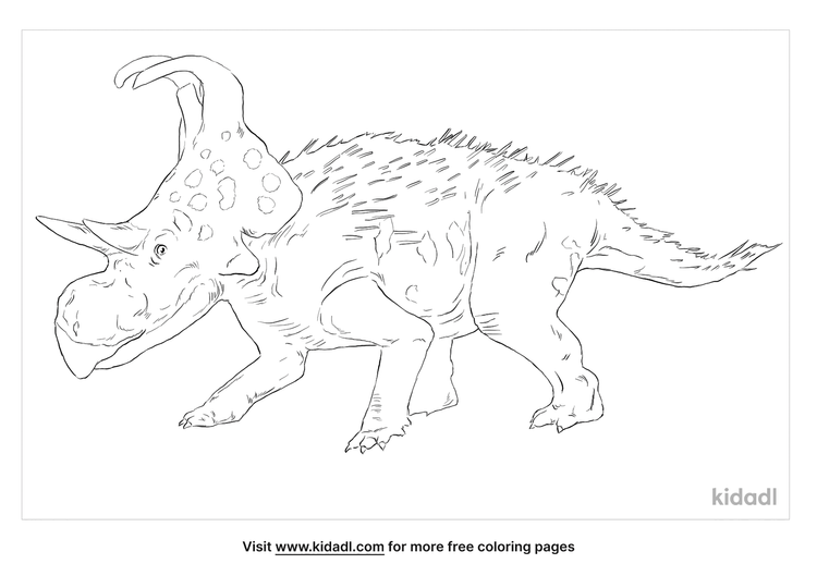 machairoceratops-coloring-page