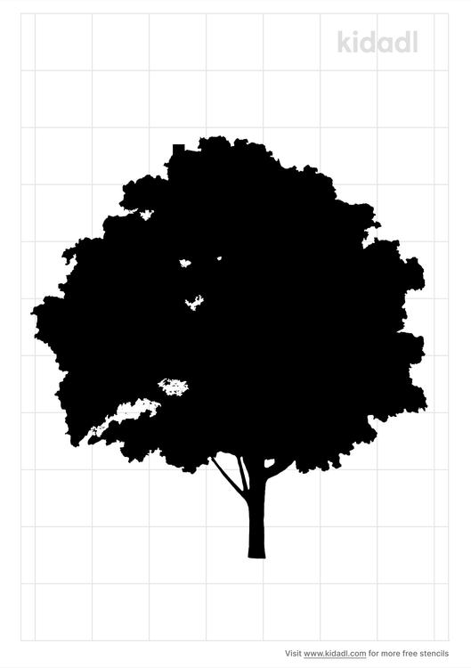 maple-tree-stencil