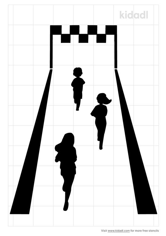 marathon-stencil