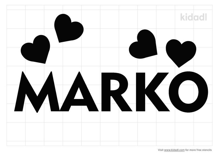 marko-name-stencil