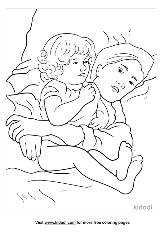 mary-cassat-coloring-page