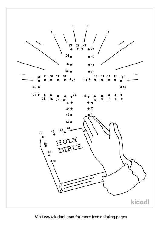 medium-bible-praying-hands-dot-to-dot