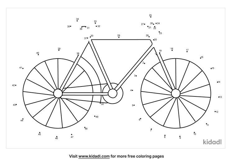 medium-bicycle-dot-to-dot