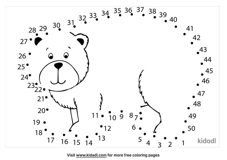 medium-brown-bear-dot-to-dot
