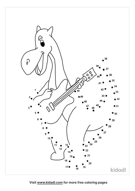medium-dinosaur-with-a-guitar-dot-to-dot