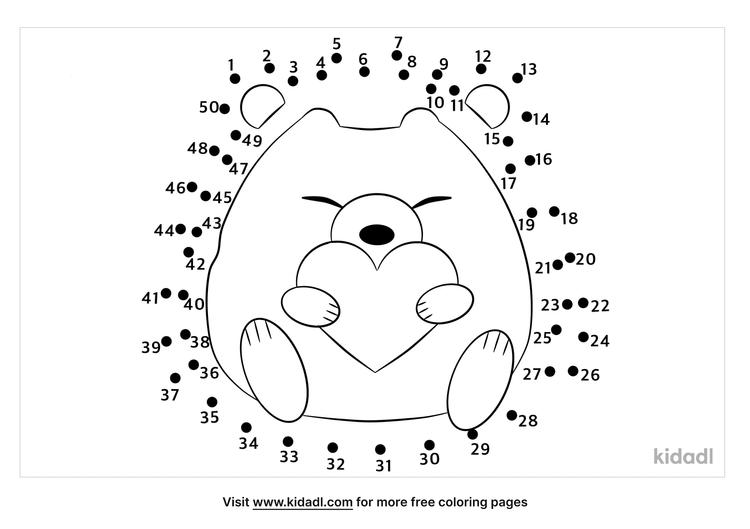 medium-hedgehog-dot-to-dot