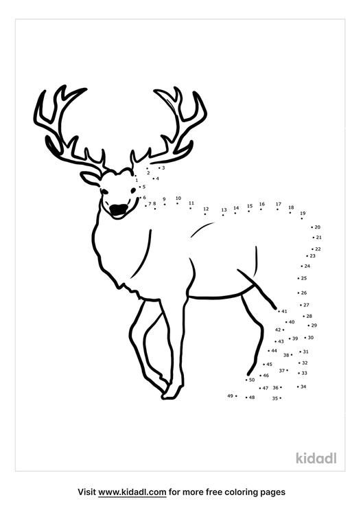 medium-mountain-deer-dot-to-dot