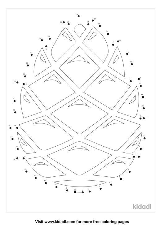 medium-pine-cone-dot-to-dot