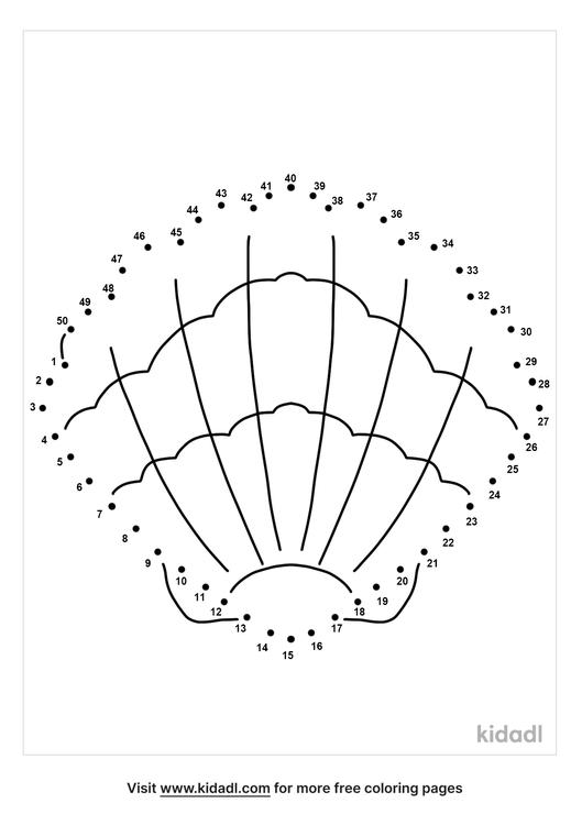 medium-sea-shell-dot-to-dot