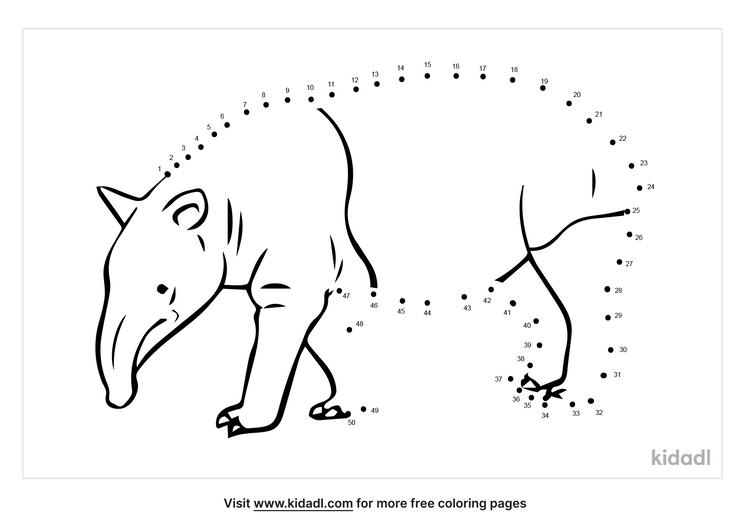 medium-tapir-dot-to-dot