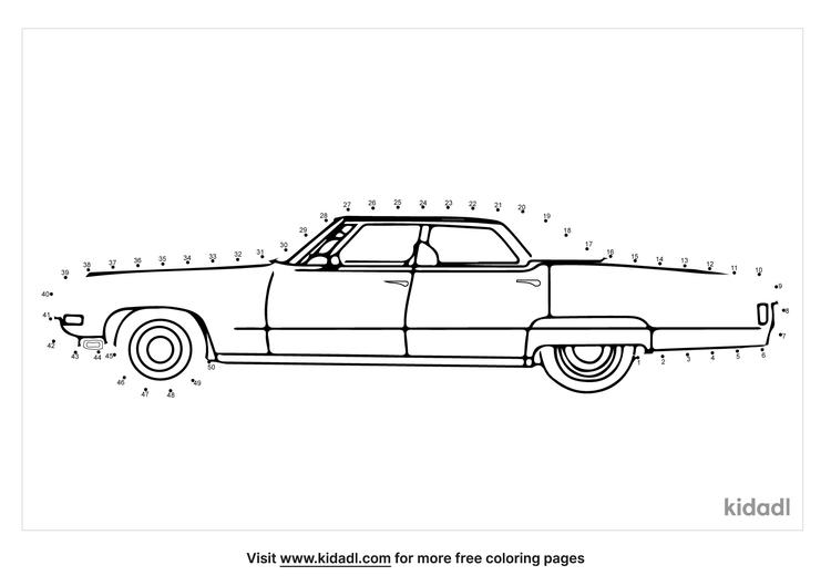 medium-vintage-car-dot-to-dot