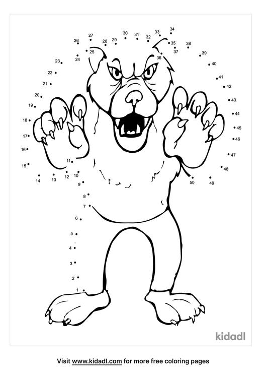 medium-werewolf-dot-to-dot