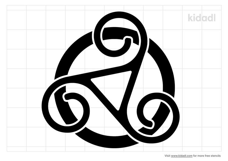 merlin-symbol-stencil